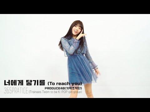 프로듀스48(PRODUCE48) 나고은(Na GoEun)ㅣ 기억조작단 - 너에게 닿기를(To Reach You) @365 Practice