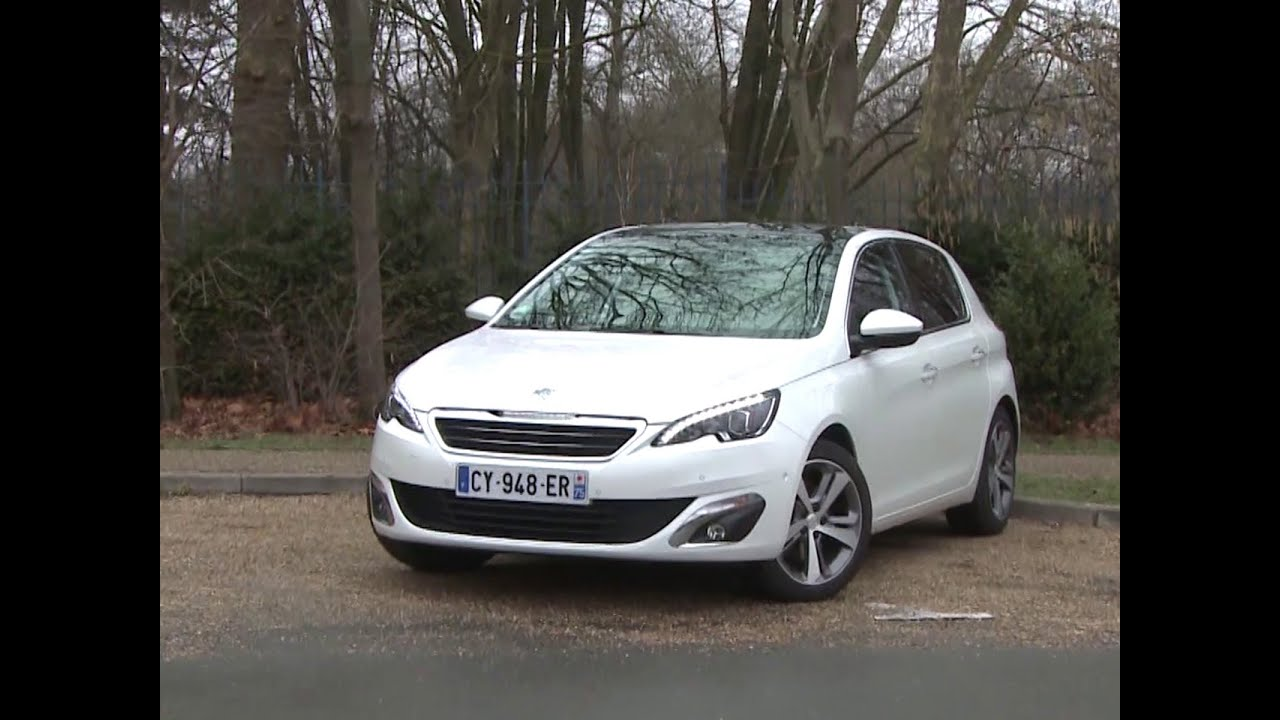 Essai Peugeot 308 1 6 Thp 155 Allure 2014 Youtube