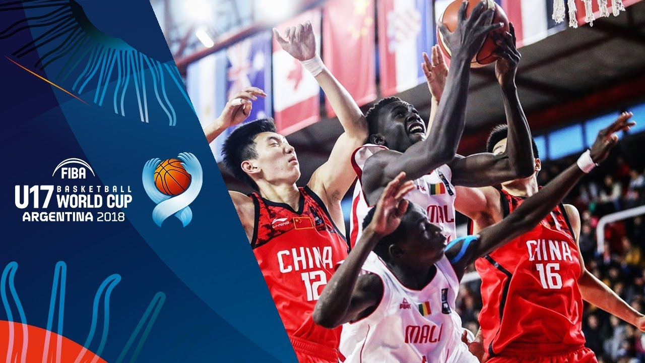 Mali v China - Full Game - FIBA U17 Basketball World Cup 2018