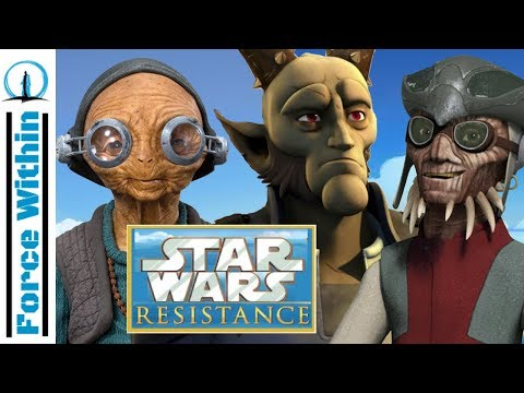 Star Wars Resistance Characters We Would Like to See - Community Thursday Theories
