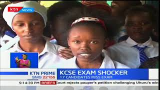 SAD: Candidates break out in tears  after missing KCSE exams