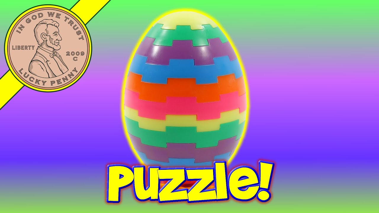 Easter Egg Puzzle from Eggsville USA! How To Solve It.