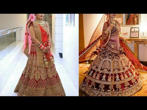 New Bridal Lehenga Choli Collection Bridal Lehenga Choli Designs Wedding Lehenga Choli Designs Youtube