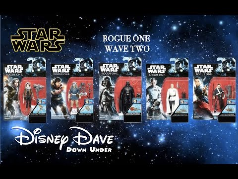 STAR WARS: ROGUE ONE Action Figures Wave 2 | Toy Review & First Look