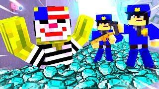 EINBRUCH in DIE POLIZEI FABRIK?! - Minecraft EINBRUCH
