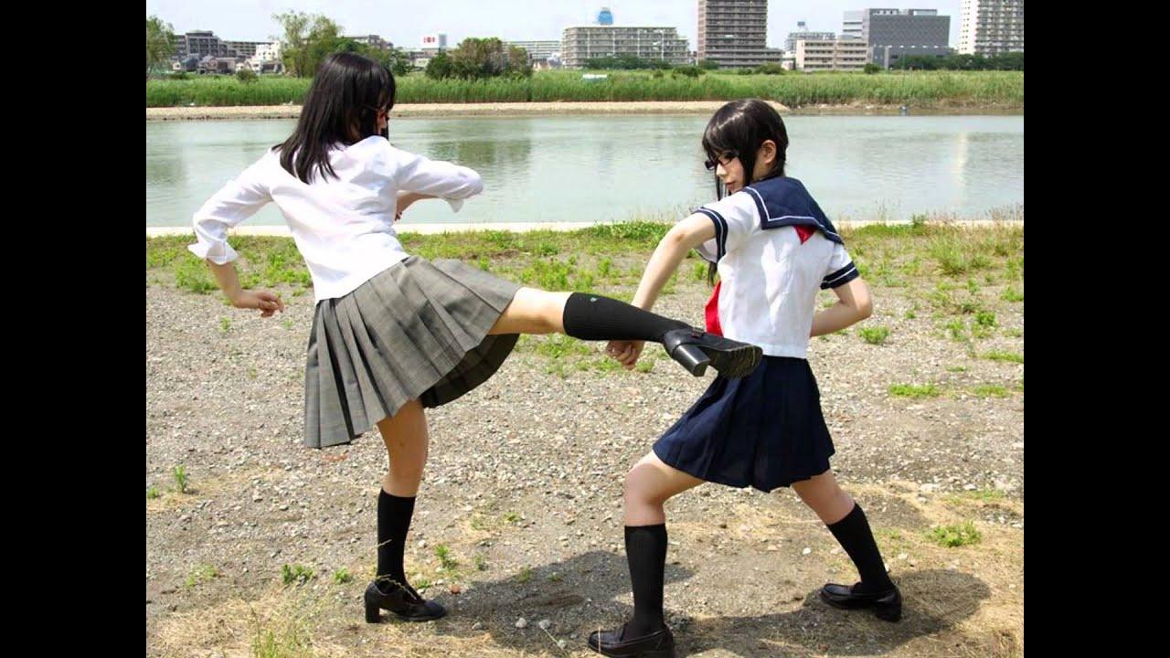 今時の女子高生の喧嘩.wmv