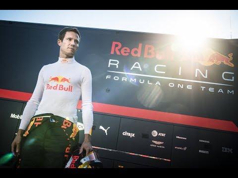Sébastien Ogier Drives A Red Bull F1 Car