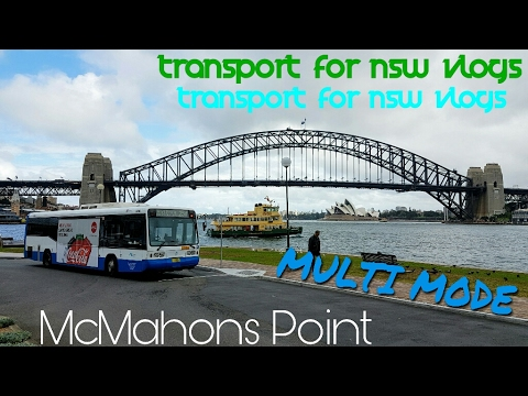 Transport for NSW Vlog No.1081 MULTI MODE: McMahons Point