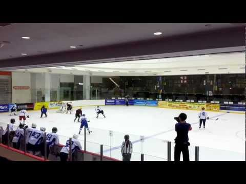 Singapore Ice Hockey League 30 Sep 12 Div 2 SIHA vs Walton