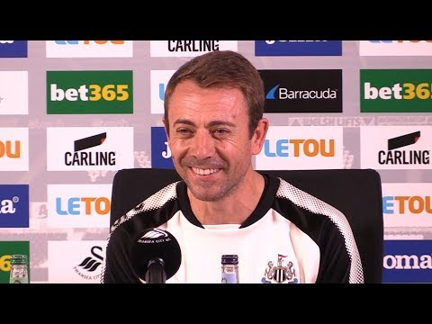 Swansea 0-1 Newcastle - Francisco de Miguel Moreno Full Post Match Press Conference - Premier League