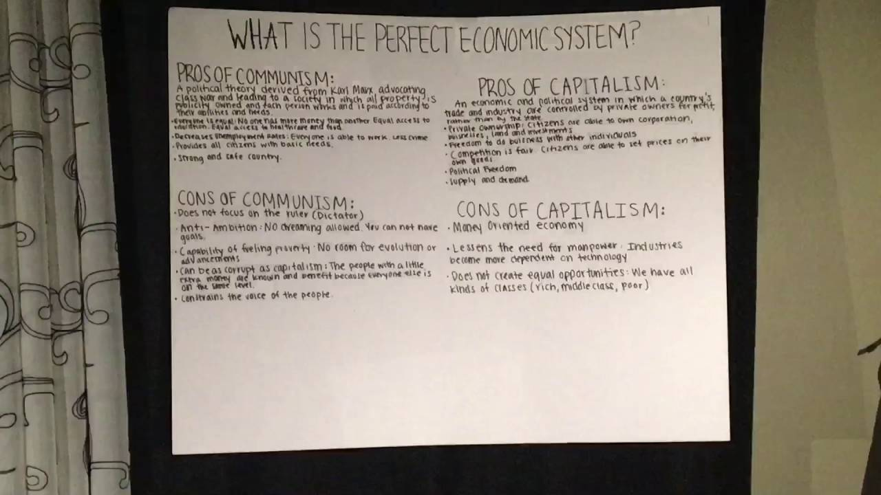 what is the perfect economic system what is the perfect economic system