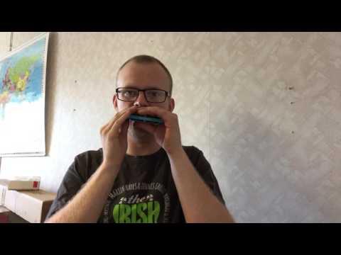 What diatonic harmonica is best suited for Irish music