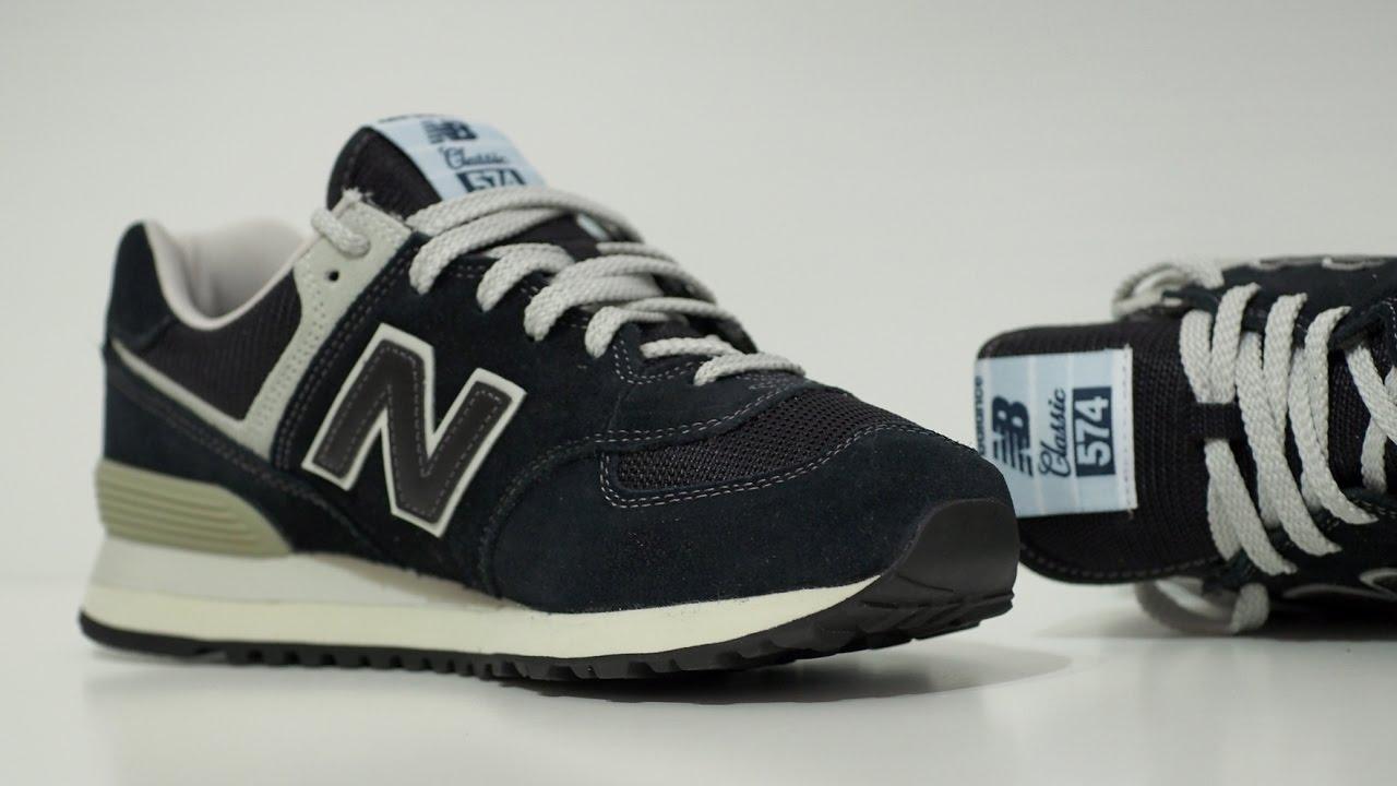2b70b8b95 Обзор кроссовок New Balance 574 и сравнение с конкурентами - YouTube
