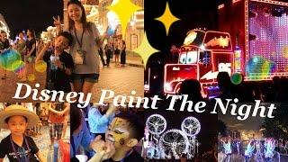 香港迪士尼樂園♥Paint the Night光影匯花車巡遊預演 Thumbnail