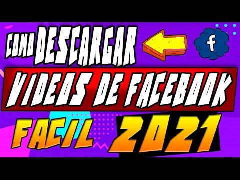 👉COMO DESCARGAR VIDEOS DE FACEBOOK 2021 (FUNCIONA 💯%) // sin programas