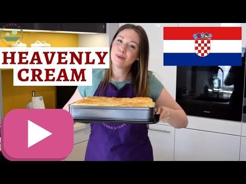How (not) to make KREMŠNITA   Croatian custard cream pie