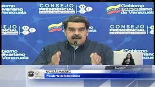 Nicolás Maduro: La FANB responderá con dignidad a los llamados insolentes de Donald Trump
