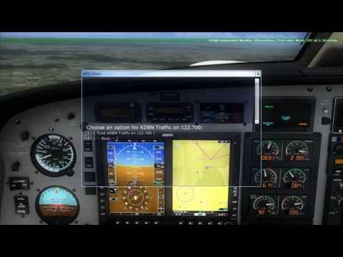 Piper Malibu flight in FSX
