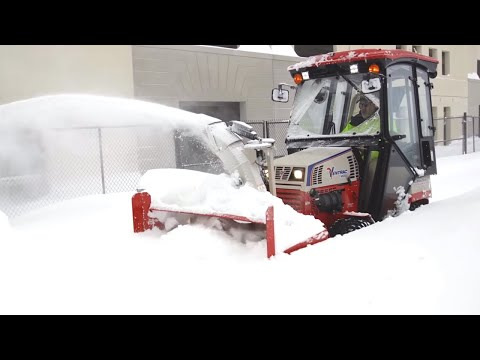 Remove Deep Snow With The Ventrac KX523 Snow Blower – Simple Start