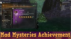 GW2 Path of Fire - Halloween Mad Mysteries Achievement Guide