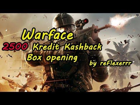 Warface | 2500 Kredit cash back box opening