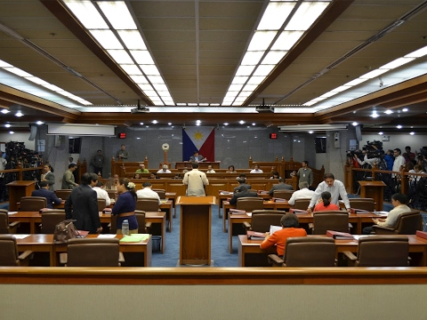 Senate Sesion No. 74 (March 14, 2017)