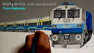 WDP4 20007 BOND with Jan Shatabdi ||SKETCHING||