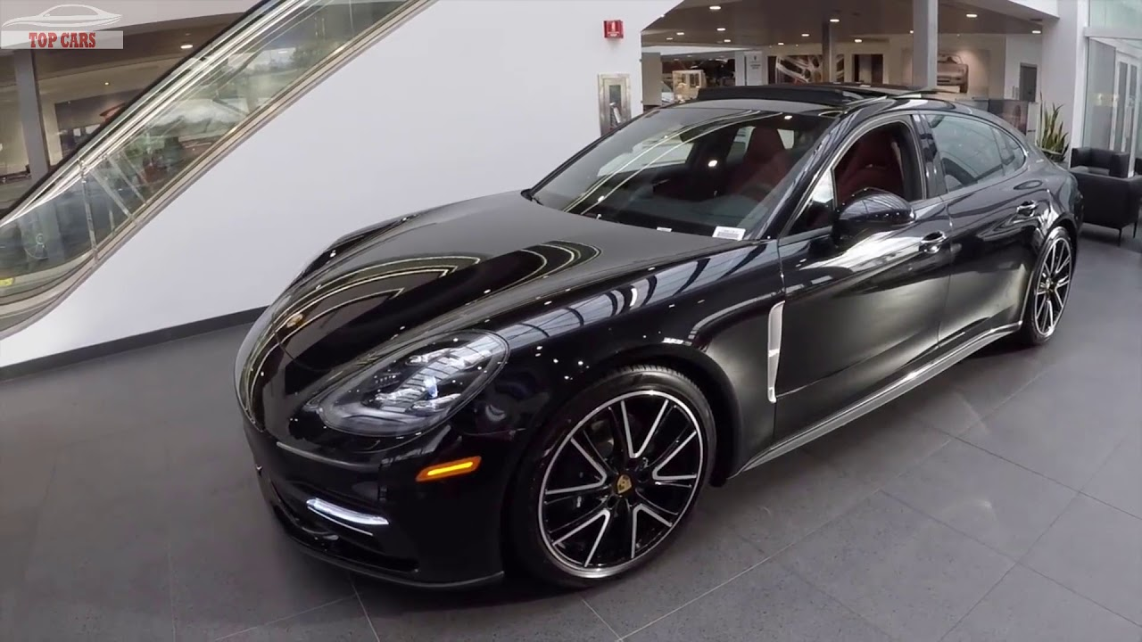 2018 Jet Black Porsche Panamera 4 Executive Quick Review Car For