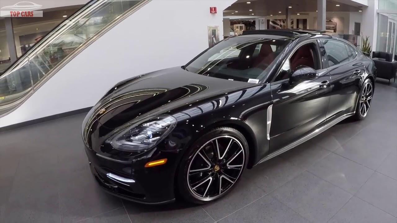 2018 Jet Black Porsche Panamera 4 Executive Quick Review
