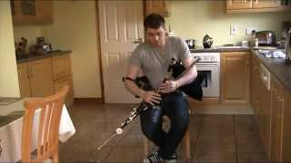 Uilleann pipes - Chris McMullan - Sliabh Na Mban & The Bunch of Keys