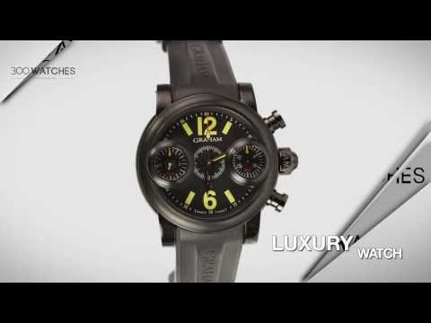 Graham Swordfish Black Knight 2SWASB B20A K06B PVD Steel Watch