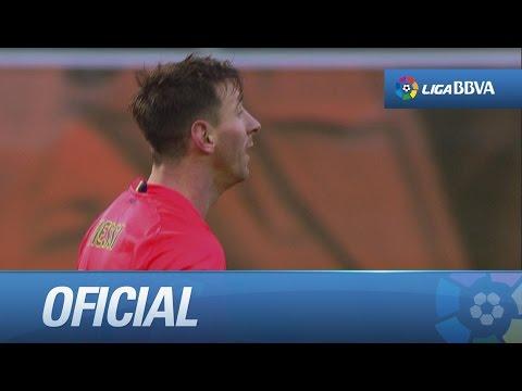 Gol de cabeza de Messi (0-2) en el SD Eibar - FC Barcelona