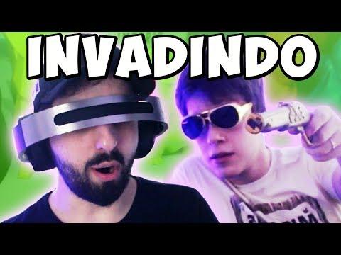 INVADINDO A CASA DO CELLBIT