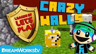 Chad Alan Plays Crazy Walls in Minecraft | LEAGUE OF LET'S PLAY