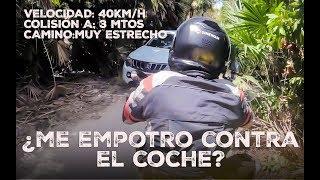 ¿Me empotro contra el coche? | Ruta en moto por el Caribe virgen |  Vlog 149 (S15 E04)
