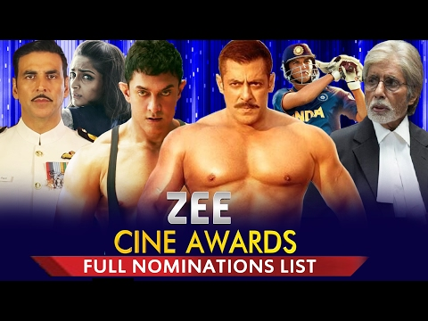 Zee Cine Awards 2017 - Full Nominations List - Viewers Choice