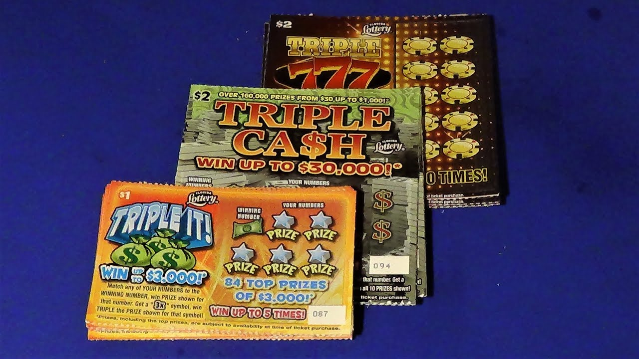 Scratchers On Other Days 332: CONTEST TICKET REPLAY + TRIPLE 777