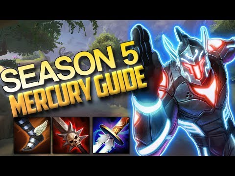 Mercury CURRENT GOD GUIDE: THE NEW BUILD - Smite