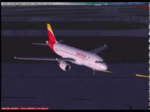 Iberia A319 Miami to Nassau IFR