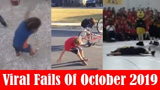 Funny & Viral Fails Of October 2019