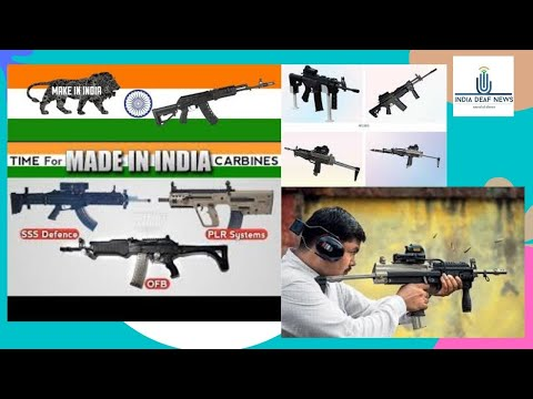 Indiia news  25th Oct: Indian Armed Forces Evaluating Made in India Carbine for urgent requirement