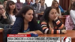 """NOUA CONDUCERE A LICEULUI TEHNOLOGIC """"PETRU MAIOR"""" (2017 01 20)"""
