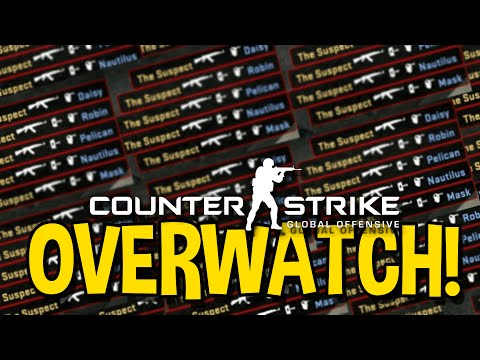 CS GO AIM BOT HACKER - OVERWATCH FUNNY MOMENTS