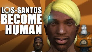LOS-SANTOS BECOME HUMAN | СИДОДЖИ ШОУ | ПАРОДИЯ