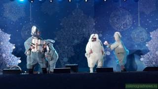 Спектакль «Цирк веселых, отважных Зайцев» на Центральной площади
