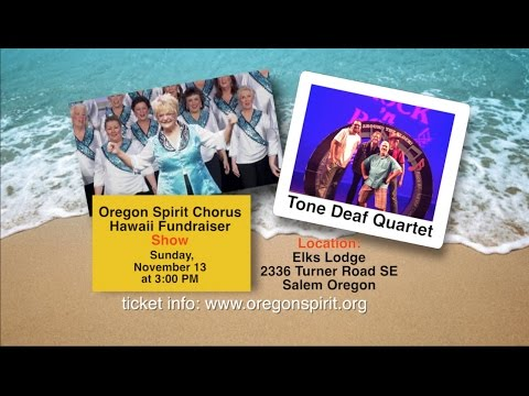 Oregon Spirit Chorus Holiday Events PSA