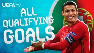 All PORTUGAL GOALS in their way to EURO 2020!