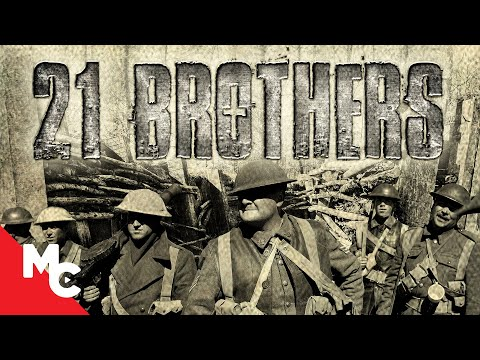 21 Brothers | Full Action War Movie | WWl | Battle of Courcelette