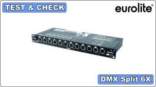 Test & Check - Eurolite - DMX Split 6X