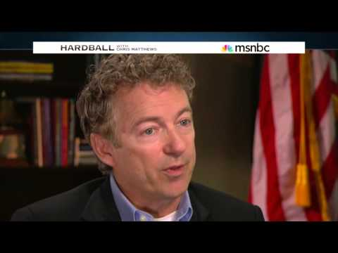 Rand Paul Interview with Chris Matthews - MSNBC Hardball